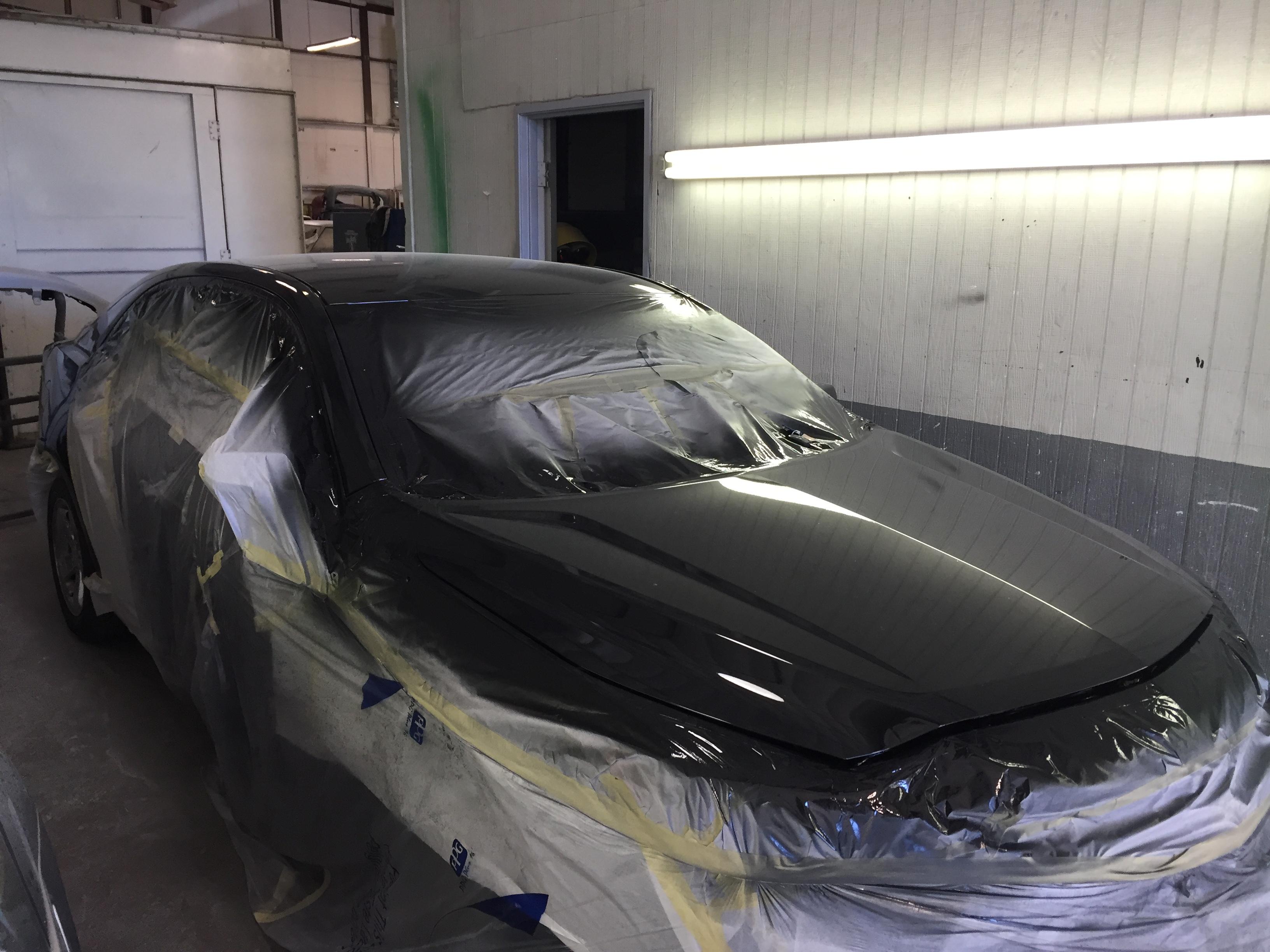 Conventional Auto Hail Repair