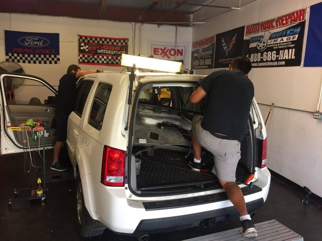 After Hail Hits Your Car, Go to an All-in-One Hail Damage Repair Shop